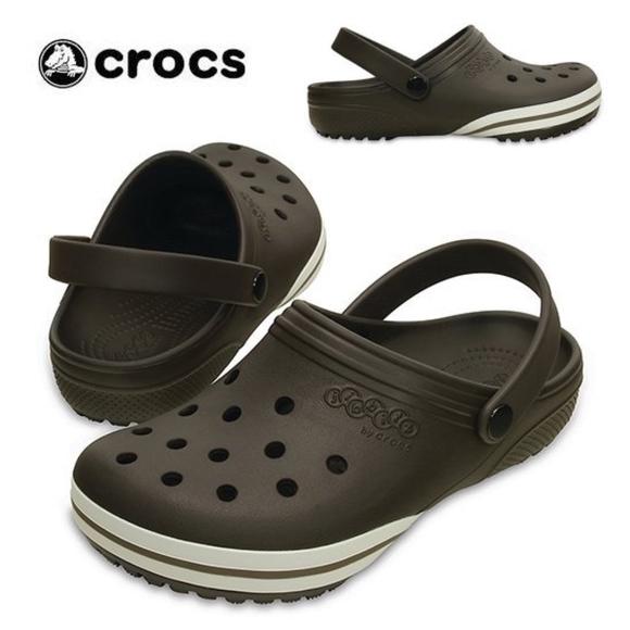 bac73a6f2c7 CROCS Shoes   Espresso Jibbitz Kilby Clog Unisex   Poshmark